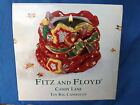 Fitz & Floyd Christmas Candy Lane Toy Bag Candle Cup