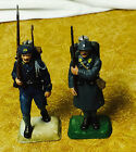 Two Vintage 54mm Resin German & English Soldiers from WW1 or WW2 Era