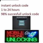 Unlock CODE FOR PANTECH C820 MATRIX PRO P1010 P2000 BREEZE 2 UNLOCKING