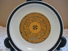 DESIGNER'S COLLECTION JAPAN STONEWARE AZTEC GOLD PLATE