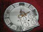222 FIFTH AROUND THE CITY - NEW YORK - ROUND APPETIZER PLATES - SET OF 8 - NEW