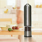 Automatic Stainless Steel Electric Salt Pepper Spice Mill Grinder Muller