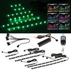 Motorcycle LED Neon Under Glow Lights Strip Kit 6pcs