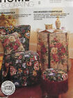 McCalls 844 Cover Loveseat Chair Ottoman Footstool Pillows Table PATTERN UNCUT