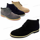 NIB Mens Ankle Boots Wing Tip Lace Up Fashion Oxfords Casual Dress Shoes Sizes