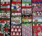 christmas group 2 4x4 Fabric Squares 20 Quilt Blocks