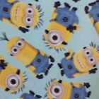 Despicable Me Tossed Minions Polar Fleece Fabric SOLD BY THE YARD