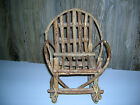 Hand Made Rocking Chair made out of Sticks and Rubberbands 11