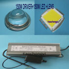 200W High Power LED Chip  200W Dimmable Driver  Lens Reflector Fixed Mount