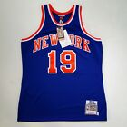 100% Authentic Willis Reed Mitchell & Ness Knicks Jersey Size L 44