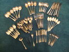 Lot Of 67 Vintage William Rogers Silver Plated Silverware Matching pattern
