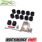 Zone Offroad 2 Complete Body Lift Kit fits 07 18 Jeep Wrangler JK