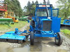 NEW HOLLAND 6600 tractor with BRUSH HOG side or bank mower ONE OWNER