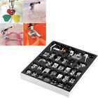 New 32PC Domestic Sewing Machine Presser Foot Feet For Brother Singer Janome KA