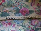 54 x 8.5 Yards Joan KESSLER for Concord PHEDRE Floral Fabric Cotton Upholstery