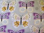 Snuggle Flannel Pastel Butterflies Apparel Quilting Gen BTY New