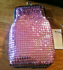 Eclipse Soft Mesh Light Pink Fashion Cigarette Case - Fits Up To 120s