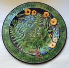 French Majolica Wall Plate From Saverne, France