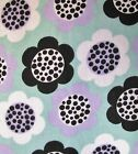 Snuggle Flannel Lavender Floral on Mint Quilting Apparel General BTY New