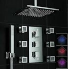 US NEW Bathroom Spa Free Standing Shower Tub Chrome Floor Mounted Filler Faucet