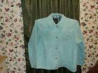 Ladies simulated  snake skin  suede leather jean jacket  size 2X by Denim