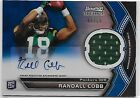 2011 Bowman Sterling Randall Cobb RC Auto Jersey Blue Refractor 99
