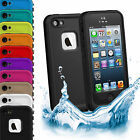 Waterproof Shockproof Dirtproof Heavy Duty Hard Case Cover for Apple iPhone 5 5S