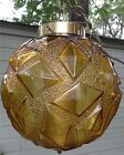 Mid Century Swag Glass Globe Funky Diamond Designs Ceiling Light Fixture
