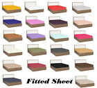 Ultra Soft 1800 Collection Brushed Microfiber Fitted Sheet Deep 14 inch Pocket