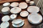 Vintage Czechoslovakian Dish Set from the 1950's. 42 Pieces
