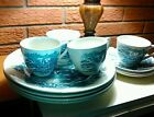 Vintage Enoch Wedgewood Countryside, 4 Settings, Cups, Saucers, 10 inch Plates