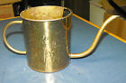 VINTAGE BEAUTIFUL BRASS WATER CAN MADE BY NIJHOF-ZEVENAAF, HOLLAND FTDA 1986