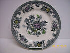 Royal Fayance Egersund Black and White Floral Dinner Plate-  Norway