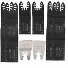 12 x Mix Saw Blades for Dewalt Stanley Black and Decker Multitool Multi Tool
