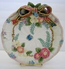 Fitz & Floyd Classics Woodland Spring Canape Plate Flowers Ribbon Butterfly 9 in