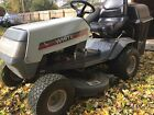 White MTD L 12 Riding Mower With a 38 Inch Deck With Bagging System