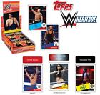 2015 Topps WWE Heritage 30th Anniversary Trading Cards HOBBY Box 2 HITS PER BOX!
