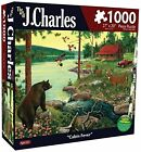 Karmin International J. Charles Cabin Fever Puzzle 1000-Piece