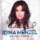 Holiday Wishes Amazon Exclusive Signed Copy Idina Menzel Artist