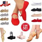 New Ballet Dance Yoga Gymnastics Canvas Slipper Shoes