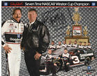 DALE EARNHARDT Autograph Signed 8 x 10 Hero Postcard, 7 Time Champ, Goodwrench