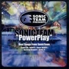 GAME MUSIC Sonic Team PowerPlay Best Songs from JAPAN Soundtrack CD MJCA-33 OBI