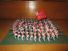 38FP LOT OF 85+ BRITISH SQUARE 1st 2nd 3rd FOOT GAURDS PLASTIC 55MM AND LEAD
