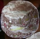 2 Pc Johnson Brothers Olde English Countryside Soup Bowl + Bread