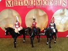 BRITAINS 7233 HM QUEEN LIFEGUARD HORSEGUARD MOUNTED METAL TOY SOLDIER FIGURE SET