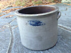 Antique Stoneware Crock-Ellensville, NY-Choice-6 5/8