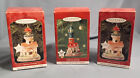 3 Vtg  Hallmark Lighthouse Christmas Ornaments 2 - 1998 and one 2001