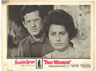 TWO WOMEN 1960 Lot of 2 Lobby Cards Sophia Loren Dir Vittorio DeSica