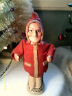 Antique German Belsnickle Santa Claus Paper Mache Christmas Ornament Figure