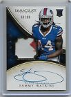 2014 Immaculate Collection Sammy Watkins RC Auto 2-Color Patch 99